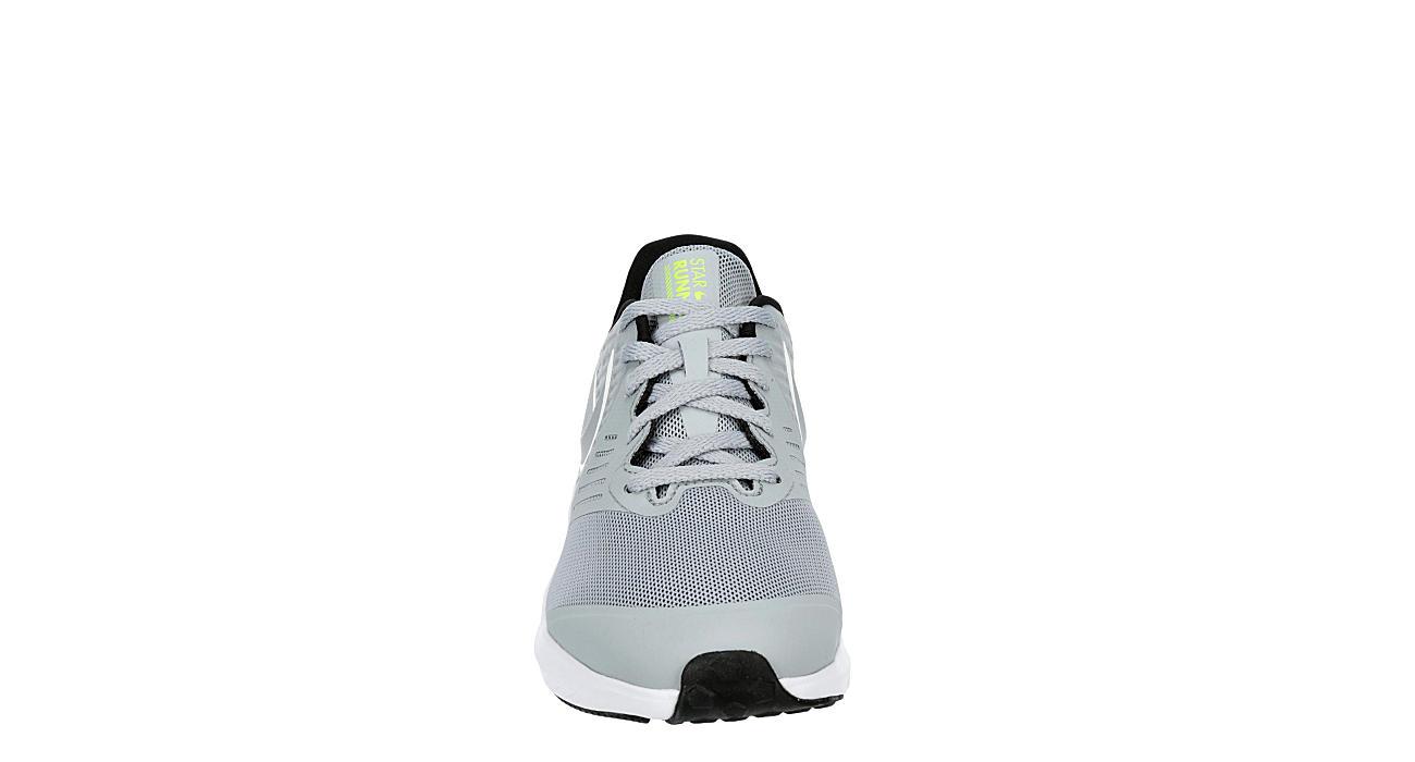 NIKE Boys Star Runner 2 Sneaker - GREY