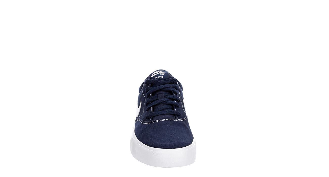 NIKE Mens Sb Charge Sneaker - NAVY