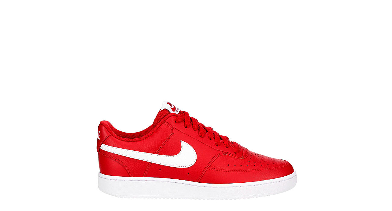 NIKE Mens Court Vision Sneaker - RED