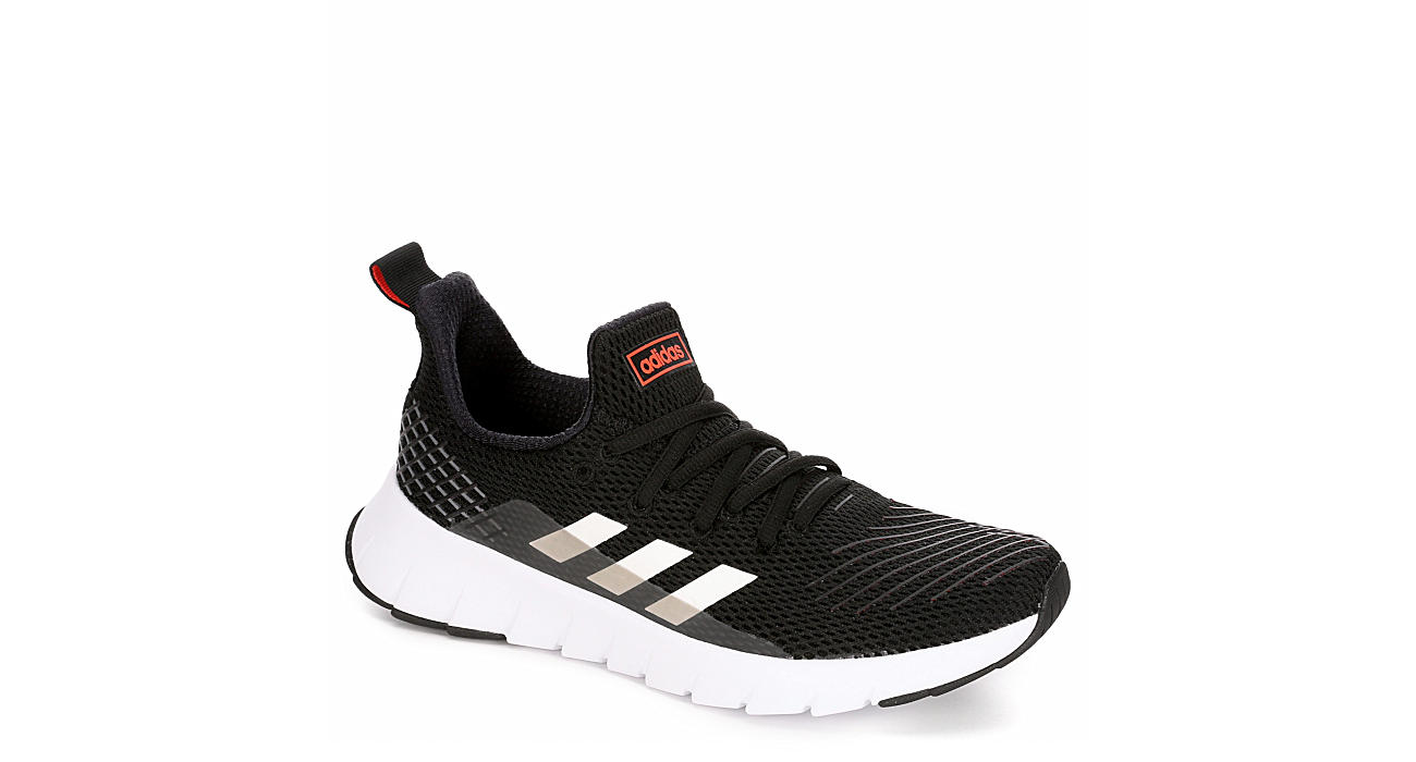 ADIDAS Boys Asweego Run Sneaker - BLACK