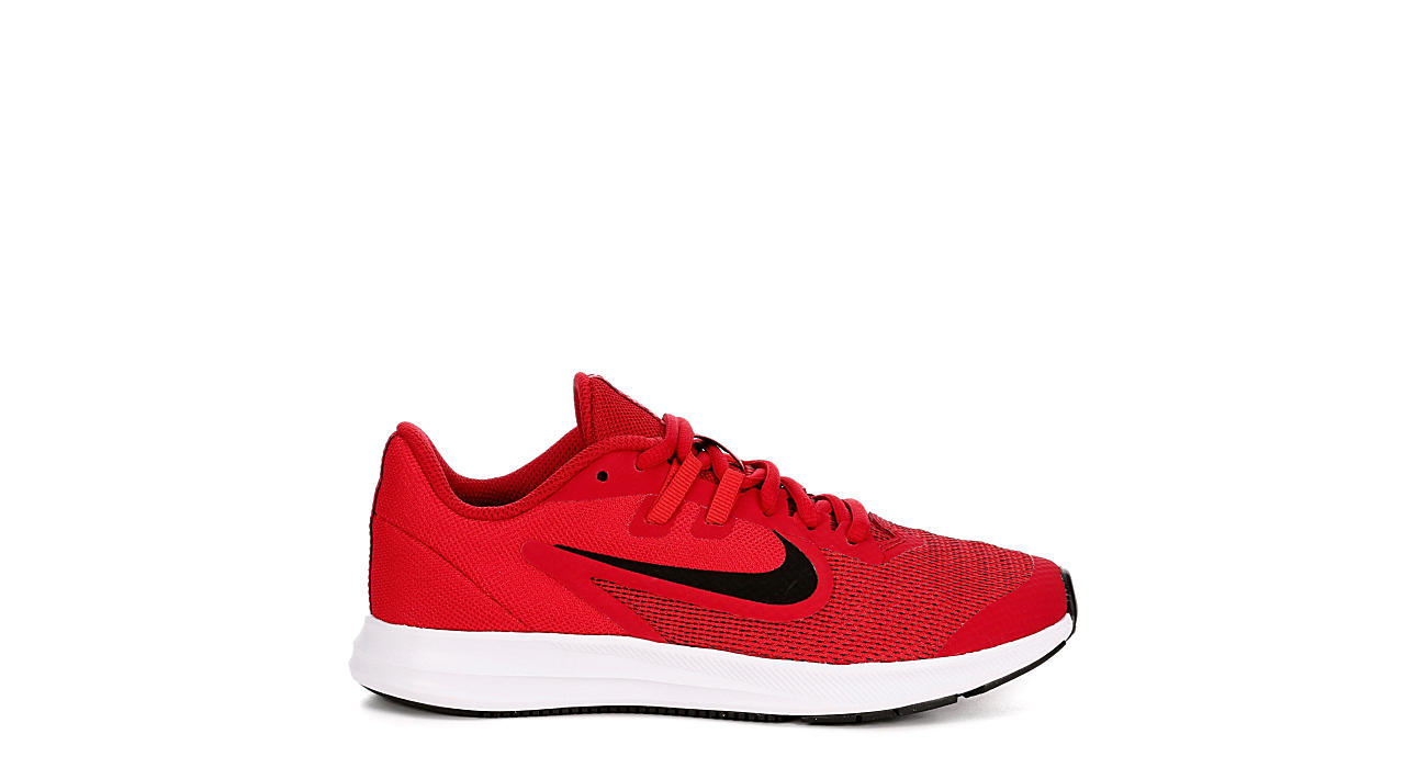 NIKE Boys Downshifter 9 Sneaker - RED