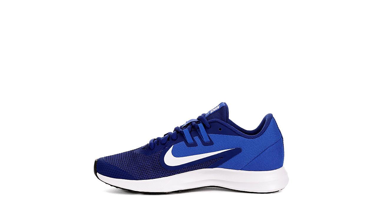 NIKE Boys Downshifter 9 Sneaker - BLUE