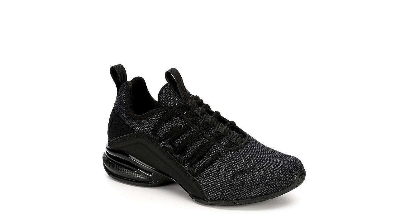 PUMA Boys Axelion Sneaker - BLACK