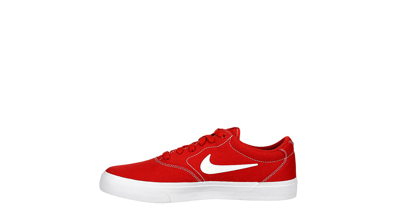 NIKE Mens Sb Charge Sneaker - RED