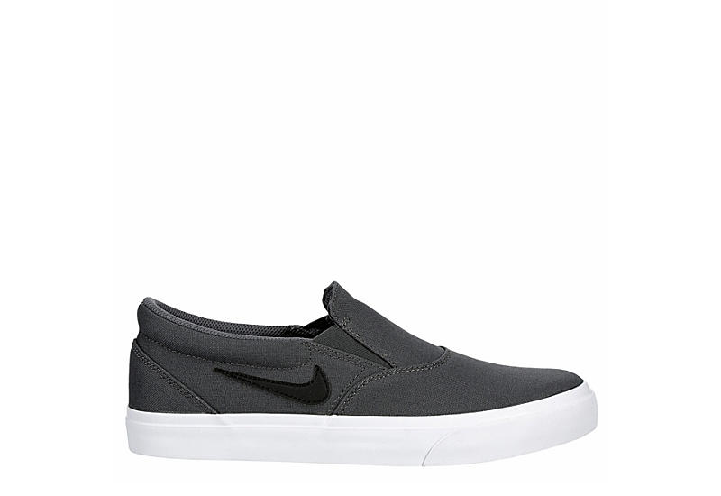 NIKE Mens Sb Charge Slip Sneaker - GREY