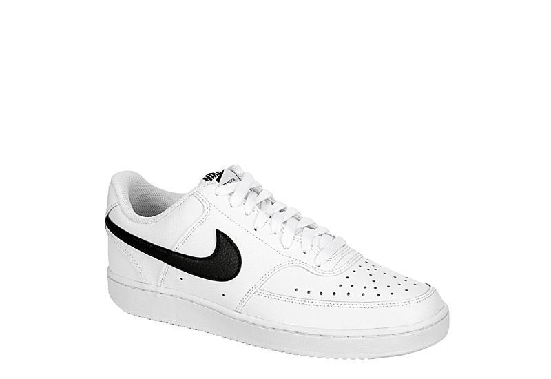 NIKE Mens Court Vision Sneaker - WHITE