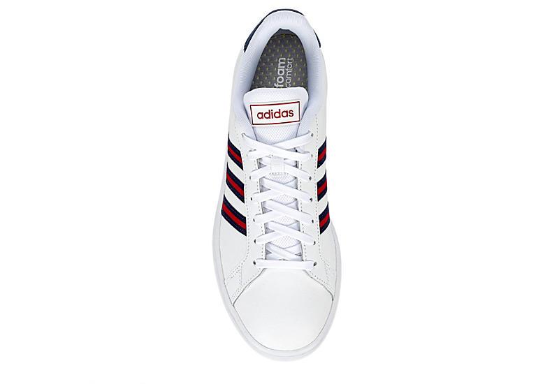ADIDAS Mens Grand Court Sneaker - WHITE