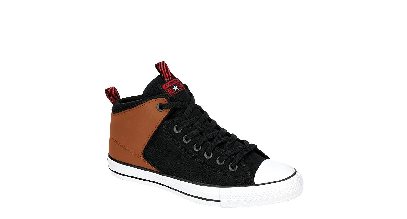 CONVERSE Mens Chuck Taylor All Star High Street High Top Sneaker - TAN
