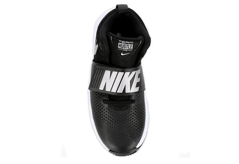 NIKE Girls Team Hustle D8 Basketball Shoe - BLACK