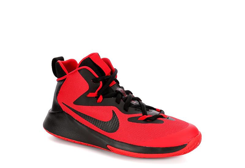best website 9cd54 8470a Nike Boys Future Court Basketball Shoe - Red