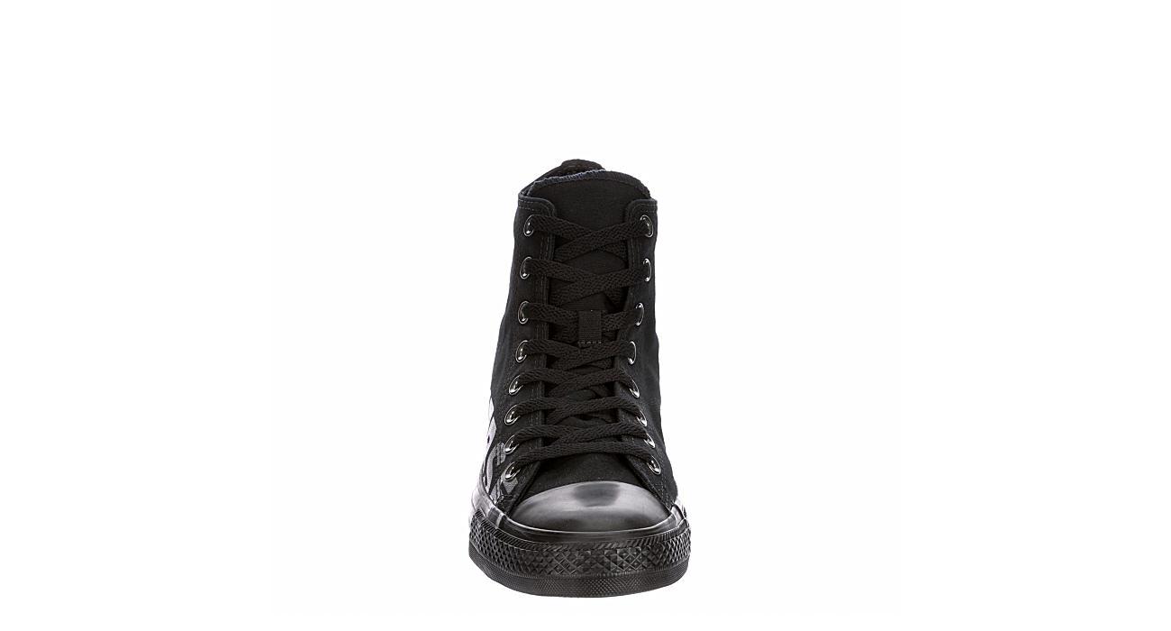 CONVERSE Mens Chuck Taylor All Star High Top Sneaker - BLACK