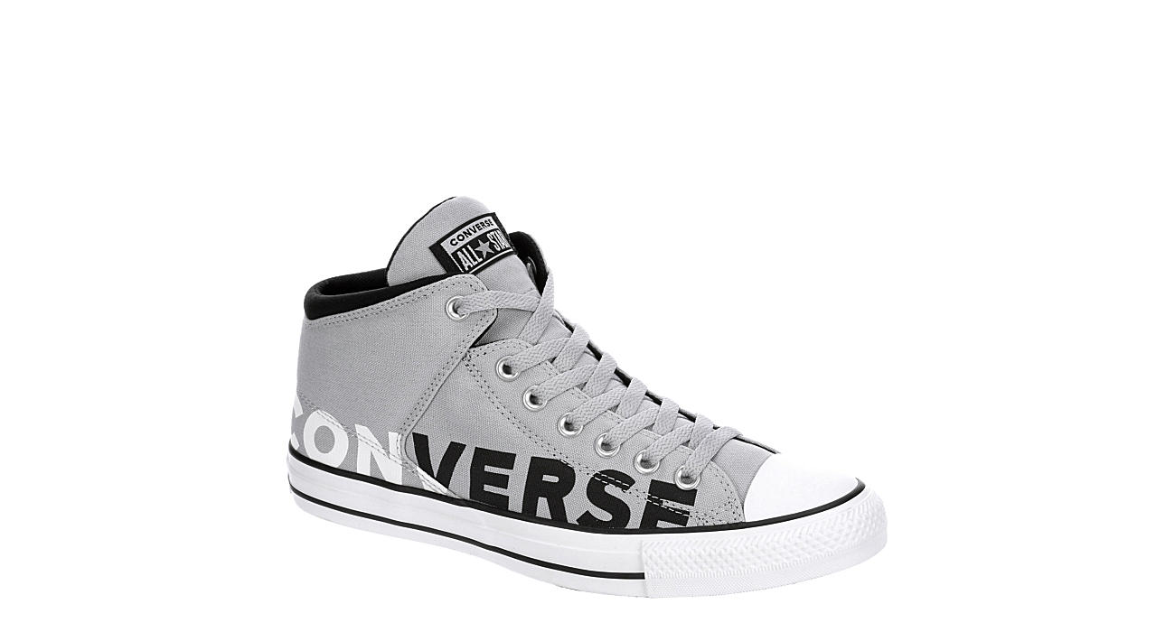 Converse Mens Chuck Taylor All Star High Street High Top Sneaker Grey