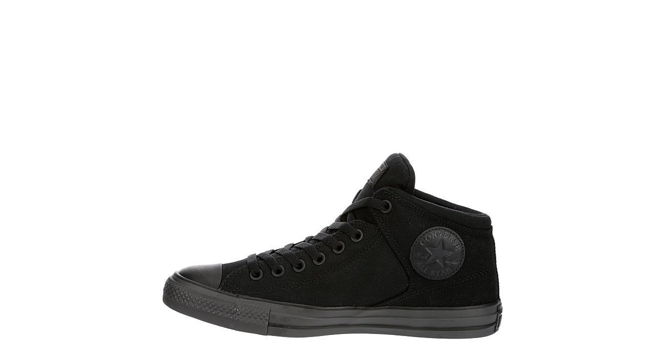 CONVERSE Mens Chuck Taylor All Star High Street High Top Sneaker - BLACK