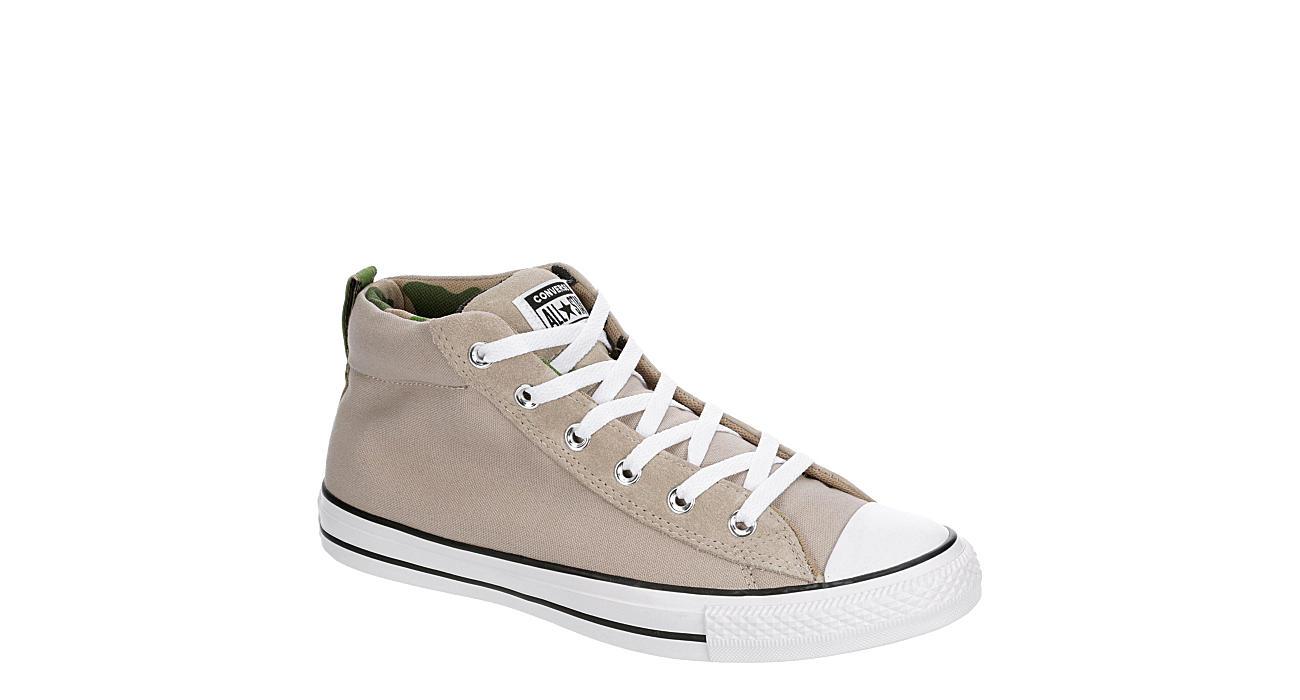 CONVERSE Mens Chuck Taylor All Star Street High Top Sneaker - TAN