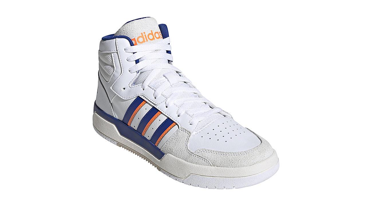 ADIDAS Mens Entrap Mid Top Sneaker - WHITE