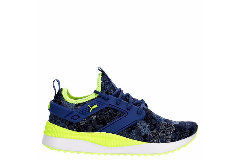 PUMA Boys Pacer Next Excel Sneaker - BLUE