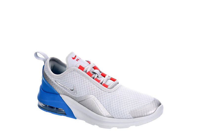 9043ae9c2c891 Platinum Nike Boys Girls Air Max Motion 2 Sneaker | Athletic | Off ...