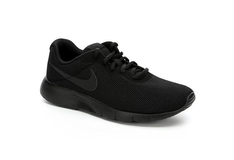 Black Nike Boys Tanjun Grade School Sneaker Athletic Off