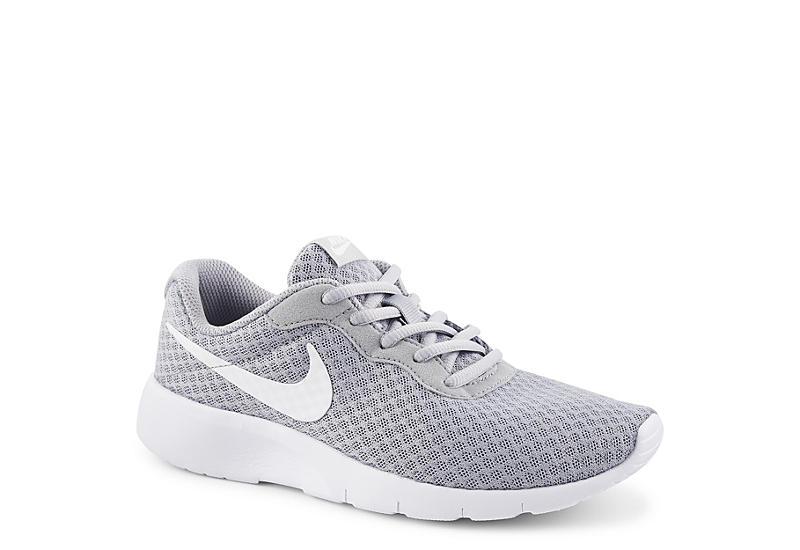 ad632ba48e9747 Grey Nike Tanjun Grade School Boys  Sneakers
