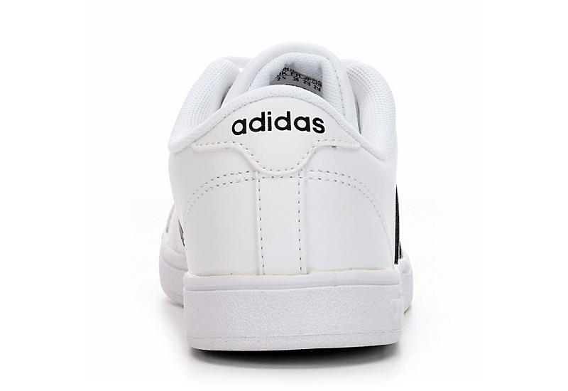 ADIDAS Boys Baseline Grade School Sneaker - WHITE