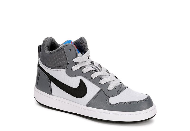 NIKE Boys Court Borough Sneaker - GREY