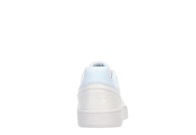 ADIDAS Boys Hoops 2.0 Basketball Shoe - WHITE