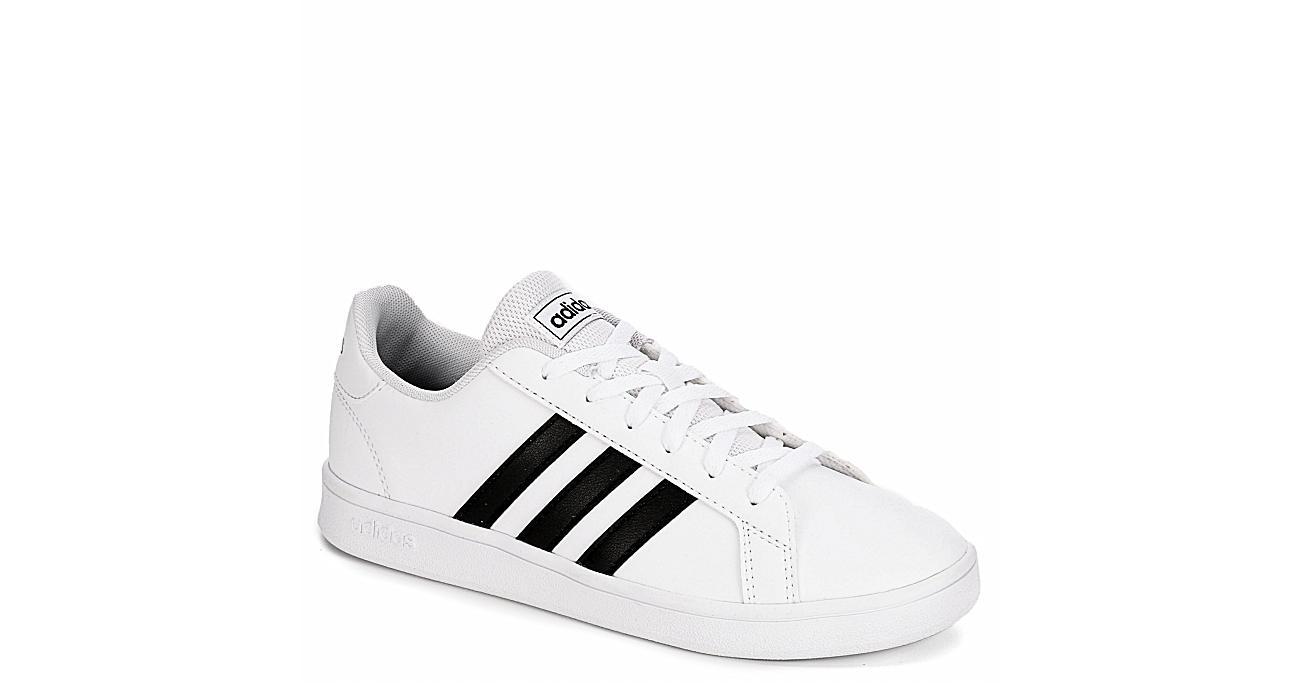 ADIDAS Boys Grand Court Sneaker - WHITE