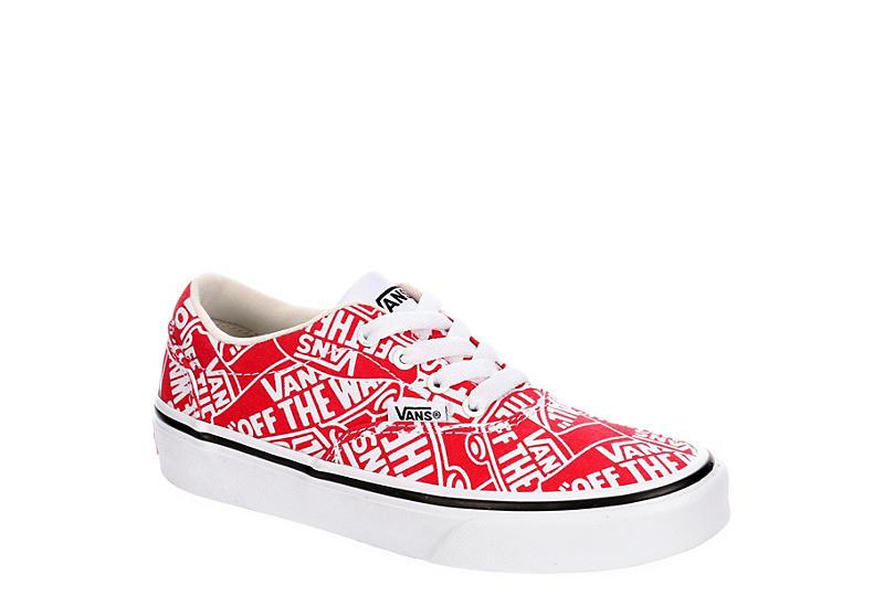 RED VANS Boys Doheny Otw Sneaker