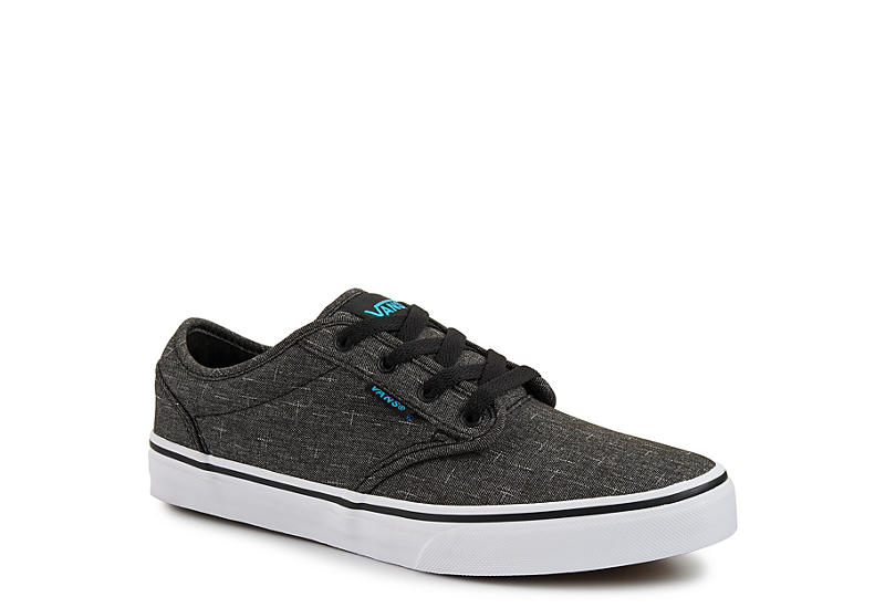 Vans Boys Atwood Grade School Sneaker - Dark Grey 9dc4901b089