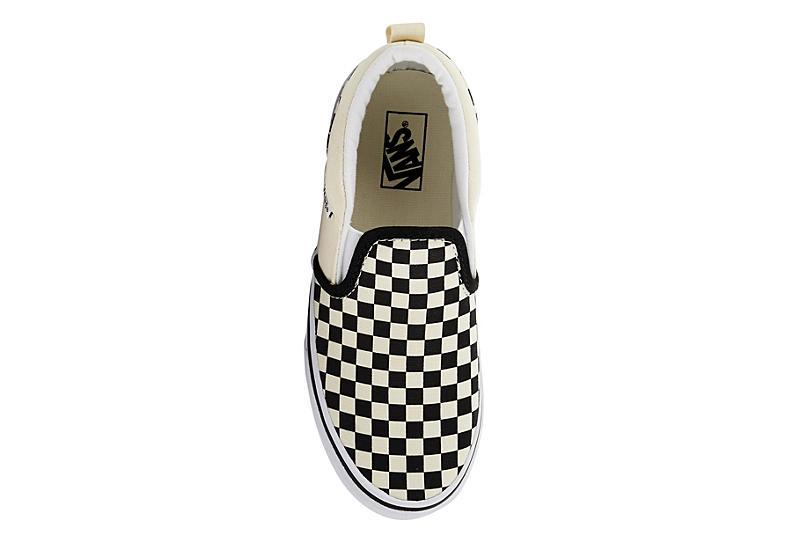 VANS Boys Asher Grade School Sneaker - OFF WHITE