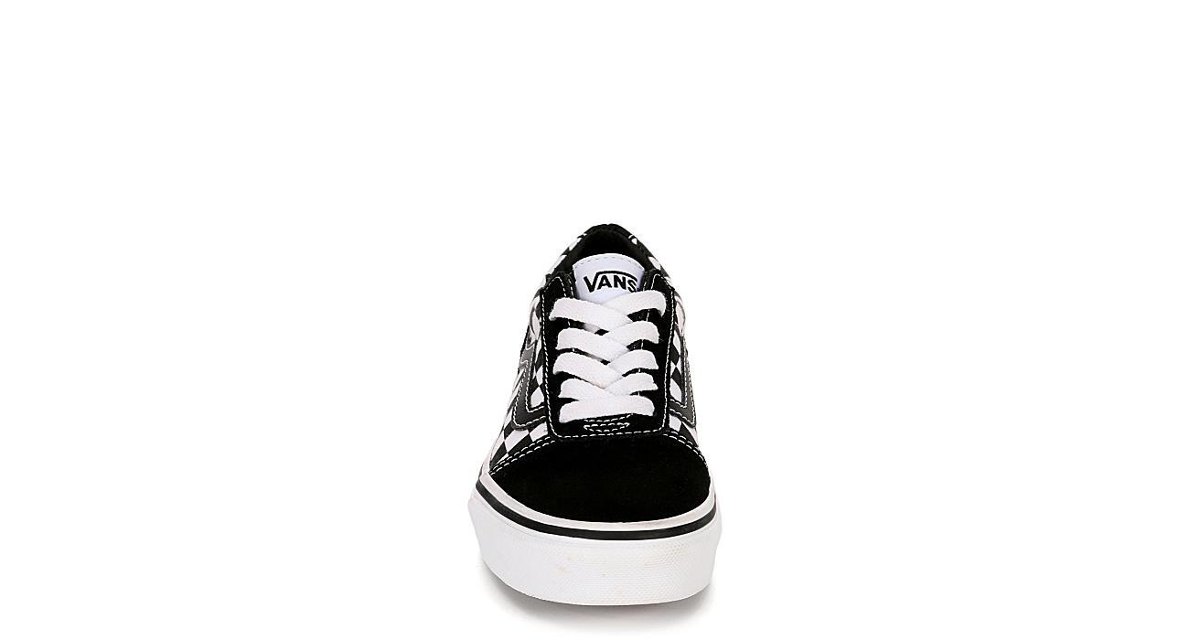 VANS Boys Ward Low Sneaker - BLACK