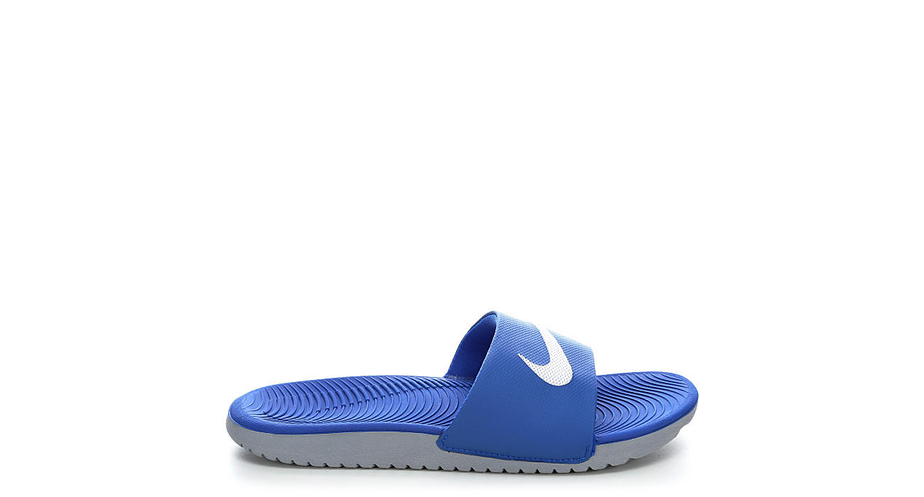 NIKE Boys Kawa Slide Sandal - BLUE