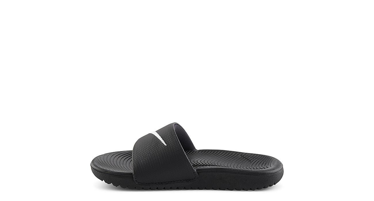 e092c4657ace2 Nike Boys Kawa Slide Sandal - Black