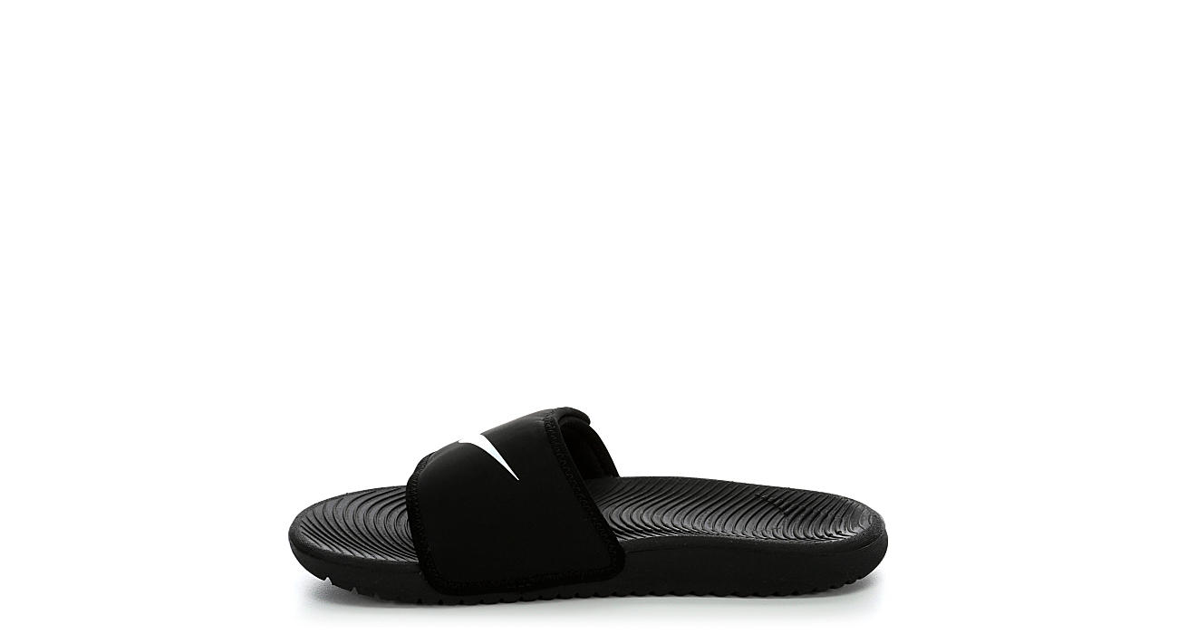 NIKE Boys Kawa Sandal - BLACK