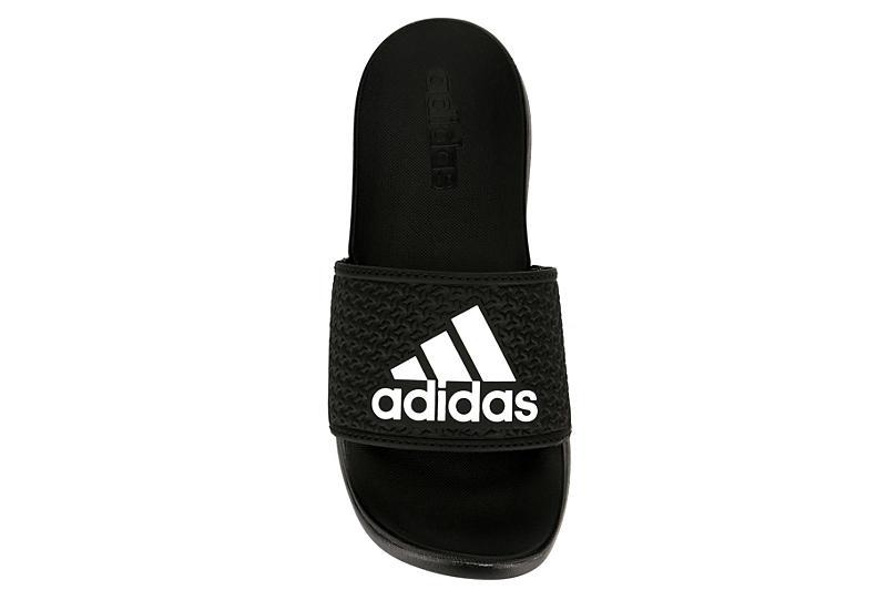 ADIDAS Boys Adilette Slide Sandal - BLACK
