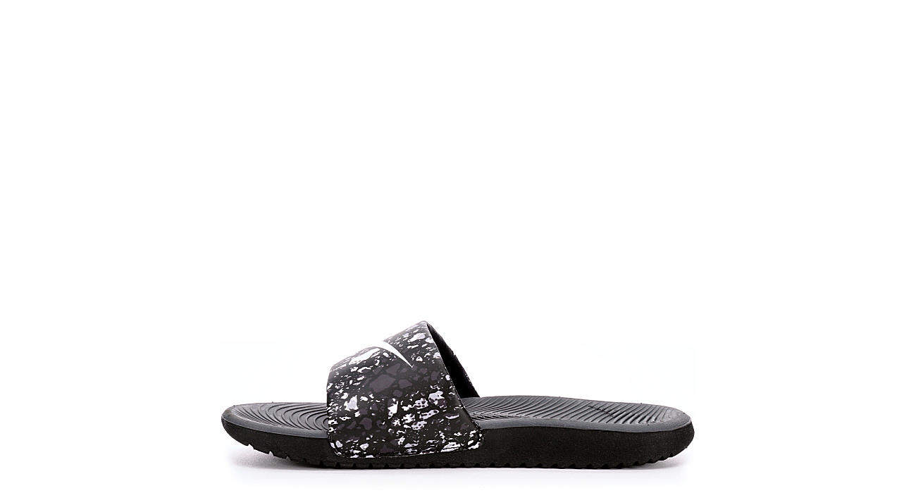 NIKE Boys Kawa Slide Sandal - BLACK