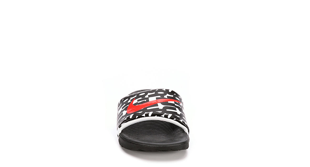 NIKE Boys Kawa Grade School Sandal - BLACK