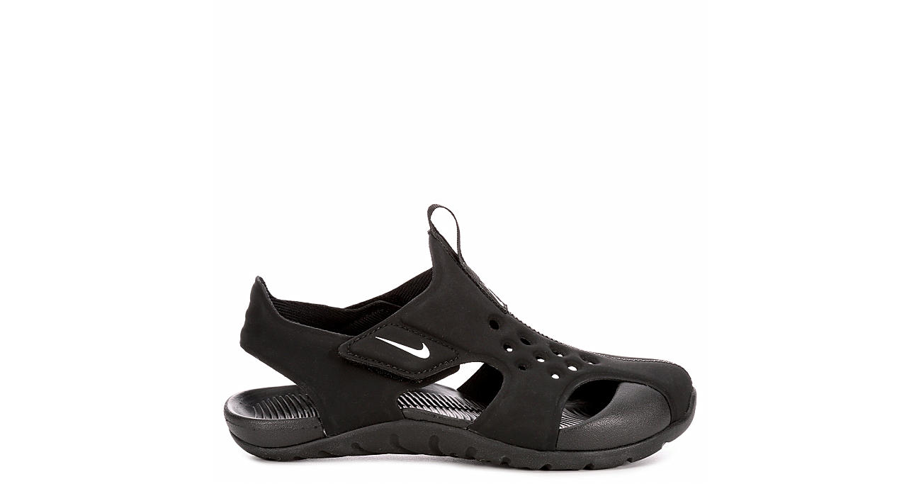 NIKE Boys Sunray Protect 2 Sandal - BLACK