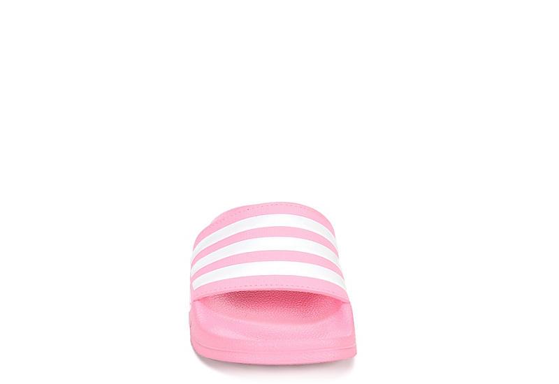 ADIDAS Girls Adilette Shower Slide Sandal - BLUSH