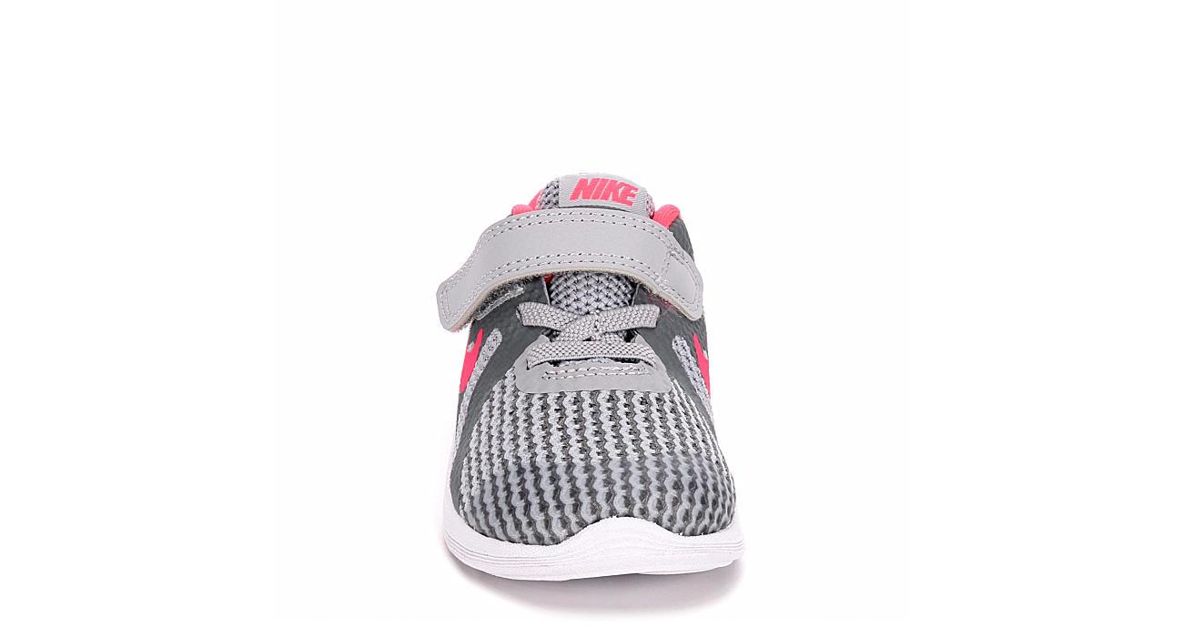 81114b824d5 Nike Girls Infant Revolution 4 Running Shoe - Grey