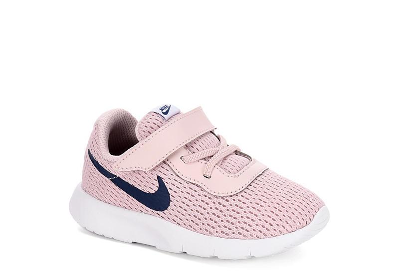4559a325e0b3 Nike Girls Tanjun Toddler Sneaker - Pale Pink