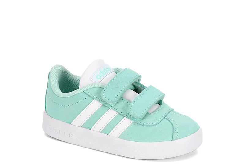 ADIDAS Girls Vl Court 2.0 Preschool Sneaker - MINT