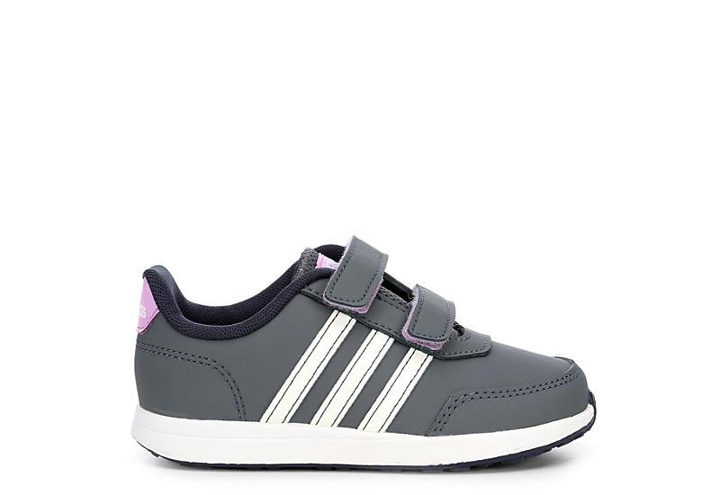 ADIDAS Girls Girls Toddler Vs Switch Sneaker - DARK GREY