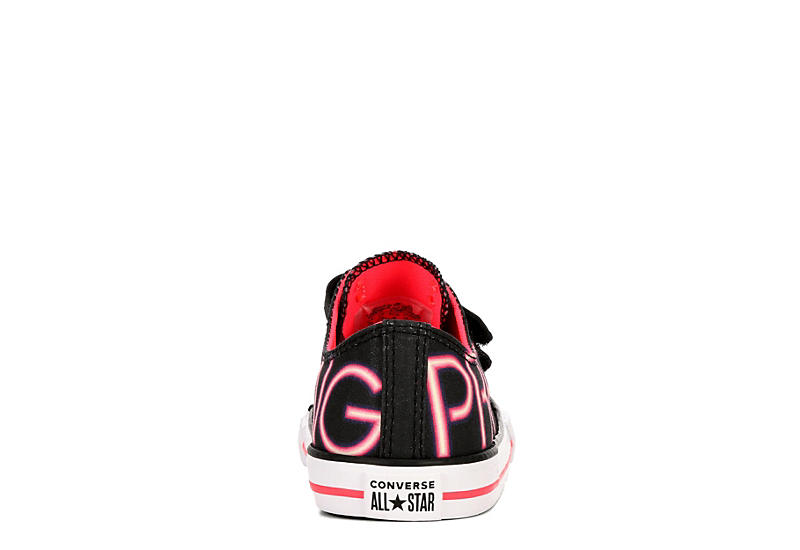 CONVERSE Girls Infant Chuck Taylor All Star Low Sneaker - BLACK