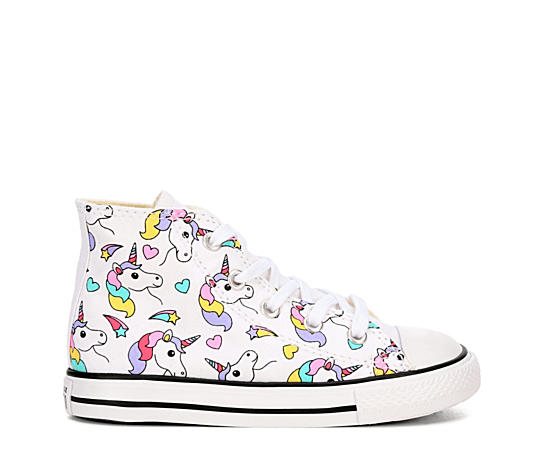 Girls Chuck Taylor All Star Unicorn High Top Sneaker