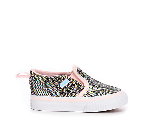 Girls Asher V Glitter Toddler Sneaker