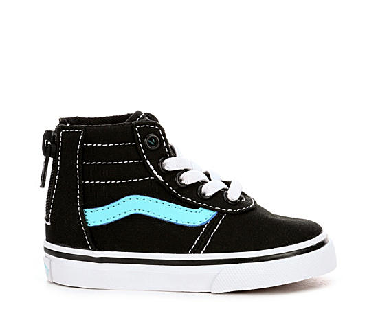 Girls Toddler Maddie High Top Zip Sneaker
