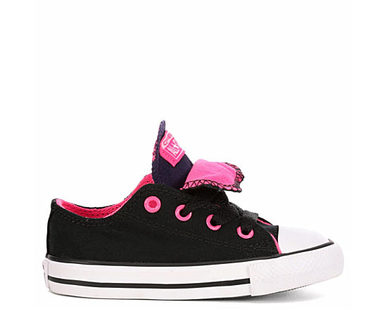 Girls Chuck Taylor All Star Double Tongue Low Top