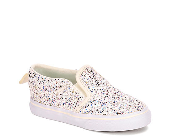 Girls Asher V Glitter Toddler Shoe