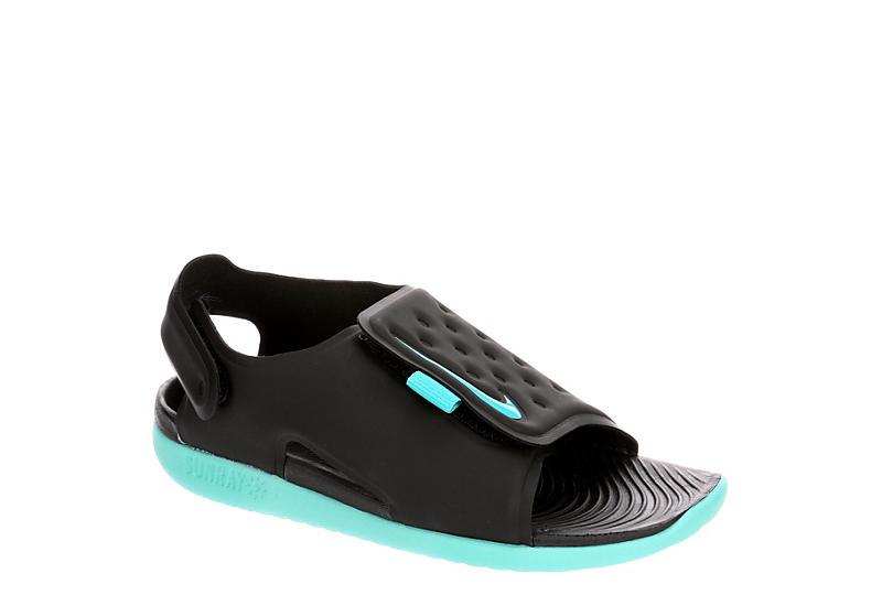 17c5ee2a0ef Black Nike Girls Sunray Adjust 5 Sandal   Infant/Toddler   Off ...